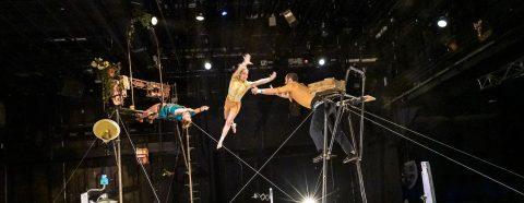 Cirque Poussière La Grande Echelle 2016 © Thomas Bartel