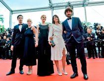 Equipe de C. Poésy Adami Cannes marches 2018 (c) Thomas Bartel
