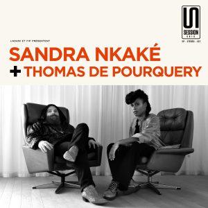 Pochette Sandra Nkake Thomas de Pourquery Session Unik 2018 © Radio France / Christophe Abramowitz