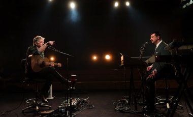 Rodolphe Burger et Arnaud Rebotini Session Unik 2018 © Radio France / Christophe Abramowitz