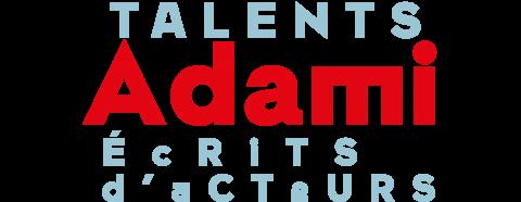 logo Talents Adami Ecrits acteurs