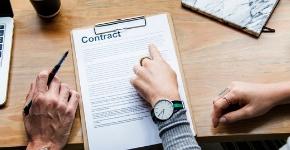 image d'un contrat