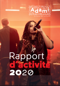 Couverture du rapport d'activité 2020